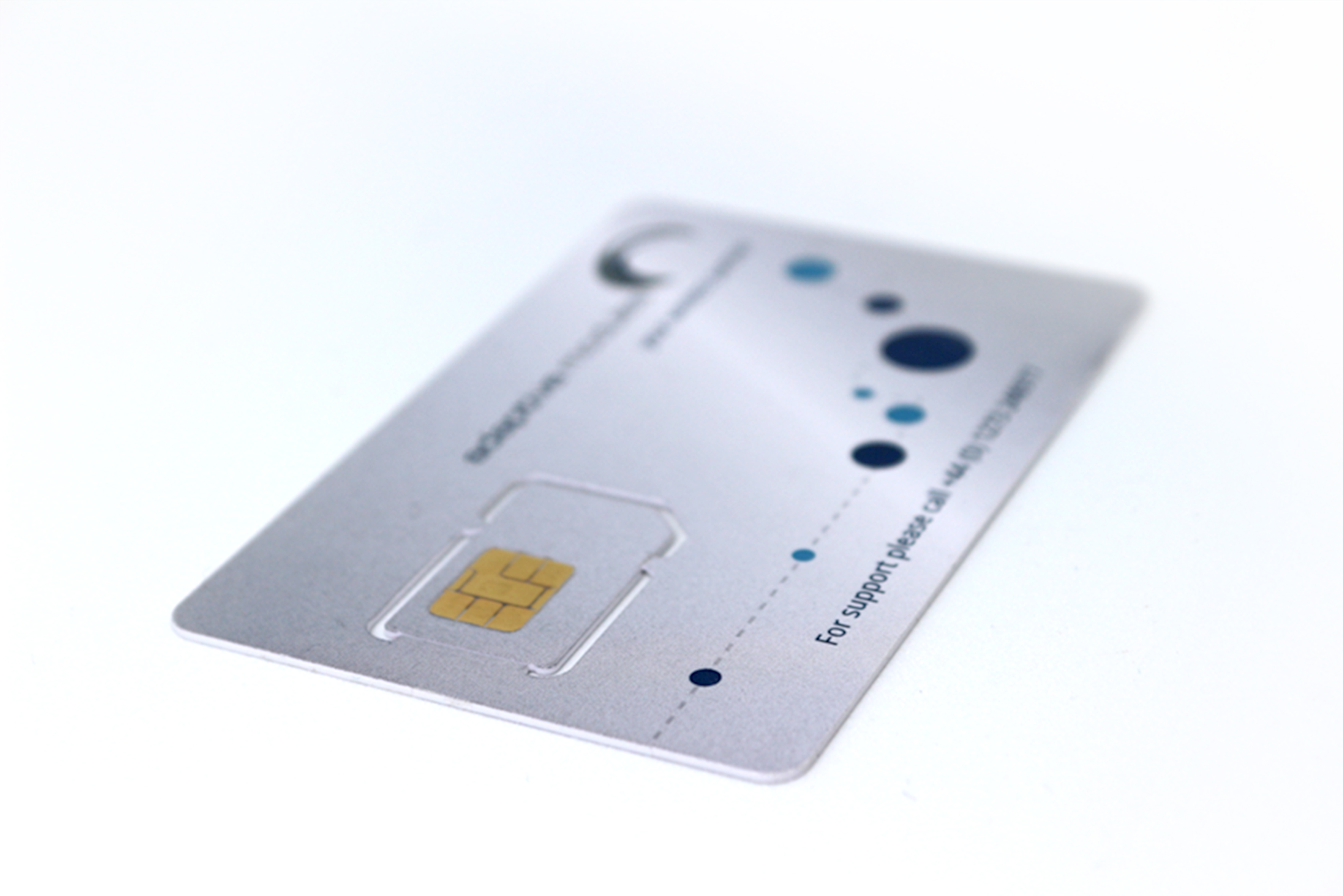 sim card on white
