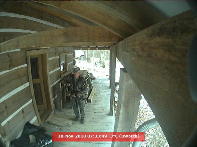 Cabin monitoring - West Virginia, US